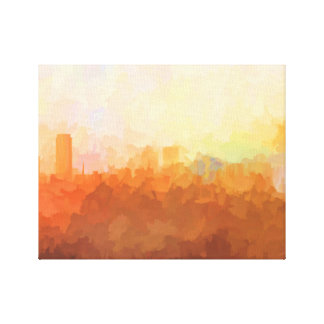 BATON ROUGE,LOUISIANA SKYLINE In the Clouds Canvas