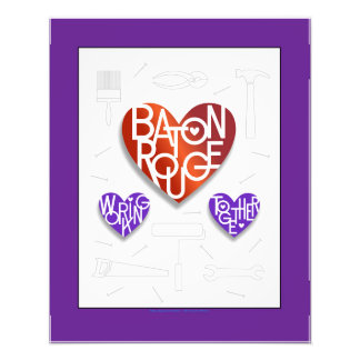 Baton Rouge Lover's Heart® Poster Photographic Print