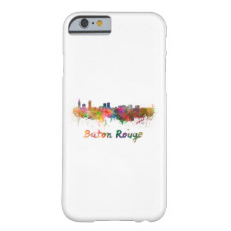 Baton Rouge skyline in watercolor copy Barely There iPhone 6 Case