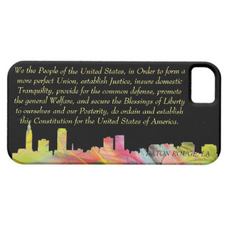 BATON ROUGE SKYLINE WB1 - iPhone 5 COVERS