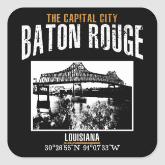 Baton Rouge Square Sticker