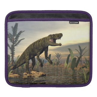 Batrachotomus dinosaur -3D render iPad Sleeve
