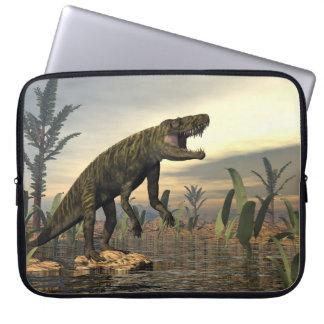 Batrachotomus dinosaur -3D render Laptop Sleeve