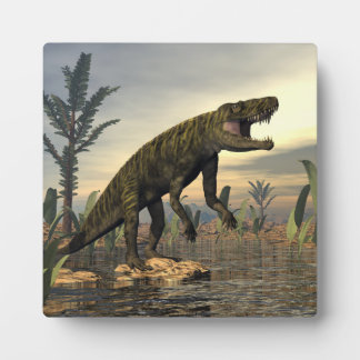 Batrachotomus dinosaur -3D render Plaque