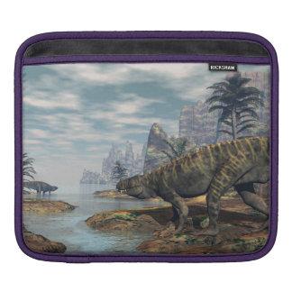 Batrachotomus dinosaurs -3D render iPad Sleeve
