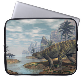 Batrachotomus dinosaurs -3D render Laptop Sleeve