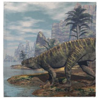 Batrachotomus dinosaurs -3D render Napkin