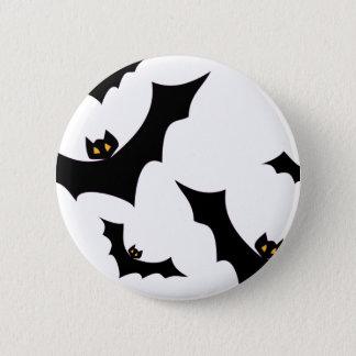 Bats #2 6 cm round badge