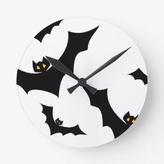Bats #2 round clock