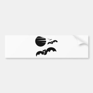 Bats #4 bumper sticker