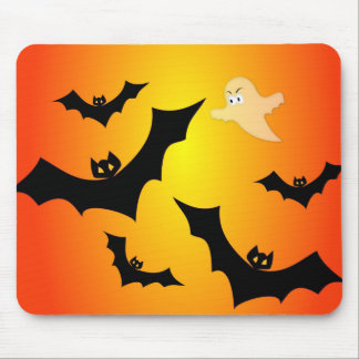 Bats and a Ghost Mouse Pad