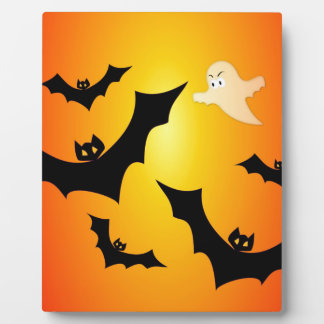 Bats and a Ghost Plaque