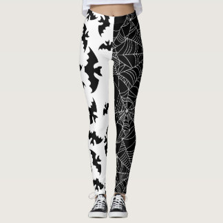 Bats And Webs Leggings
