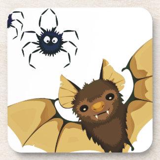 Bats Drink Coaster