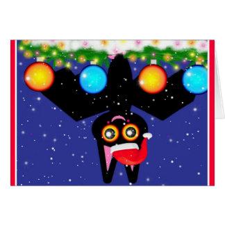 Bats First Christmas Card