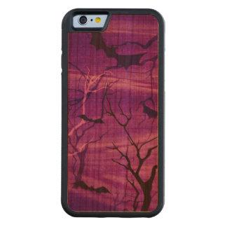 Bats Halloween night case Cherry iPhone 6 Bumper Case