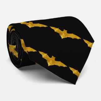 Bats in Gold Tie