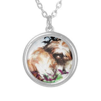 bats in the belfry silver plated necklace