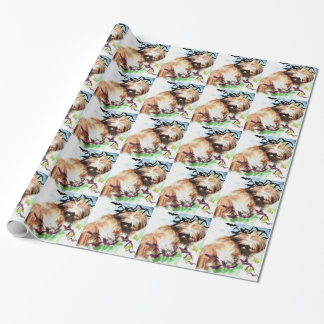 bats in the belfry wrapping paper