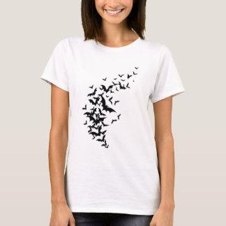 Bats on White T-Shirt