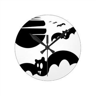 Bats Round Clock
