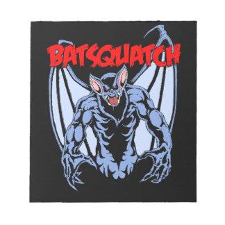 Batsquatch Notepad