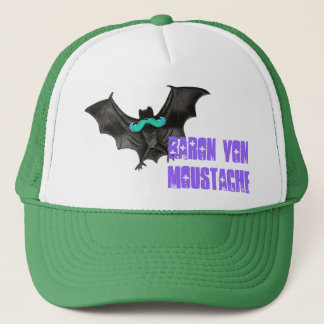 Batstache Trucker Hat