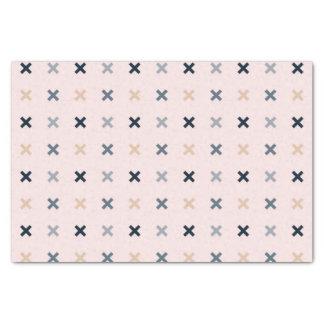 Batsu X Blush Colour Pattern Tissue Paper