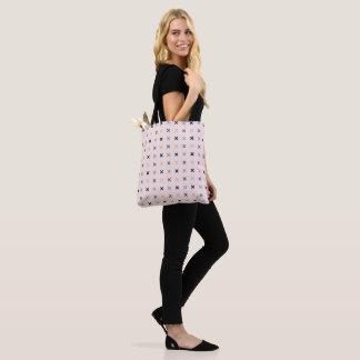 Batsu X Blush Colour Pattern Tote Bag