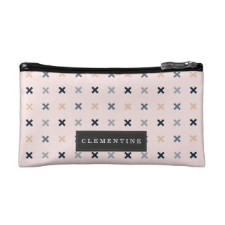 Batsu X Minimalist Pattern Makeup Bag