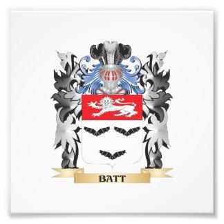 Batt Coat of Arms - Family Crest Art Photo
