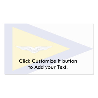 Battalion Commander, Air Force, Germany Business Card Template