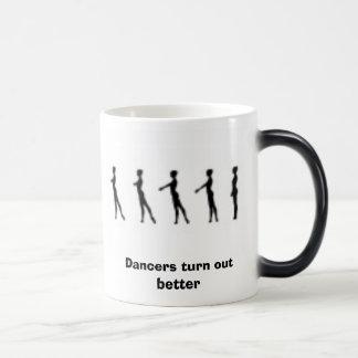 battement tendu, Dancers turn out better Magic Mug