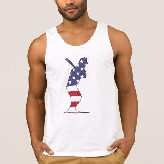 Batter - American Flag Singlet