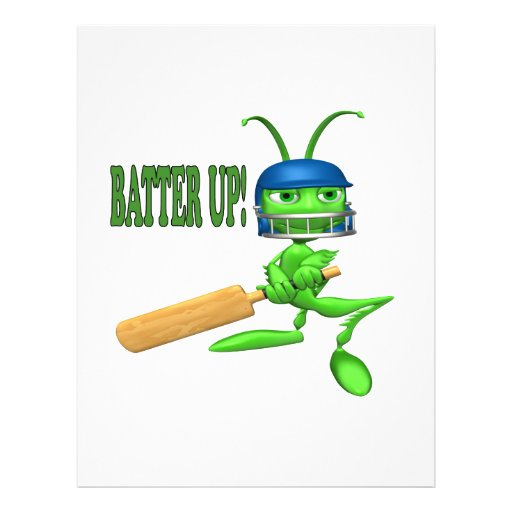 Batter Up 2 Flyer Design