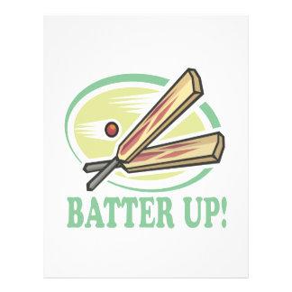 Batter Up Flyer Design