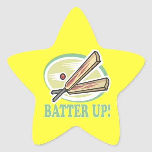 Batter Up Stickers