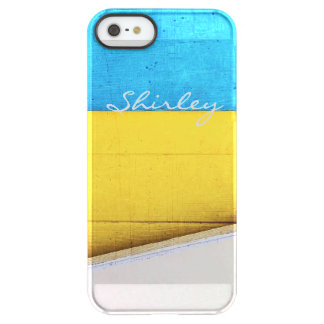 Battered Building-Minimal Abstract by STaylor Permafrost® iPhone SE/5/5s Case