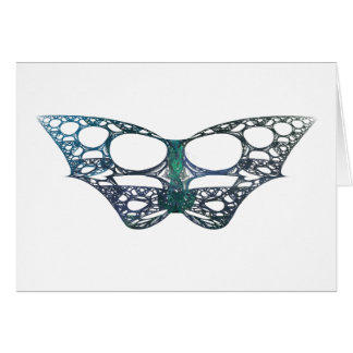 Batterfly Fractal Greeting Card