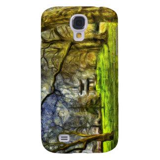 Battersea Park Pagoda Art Samsung Galaxy S4 Cases