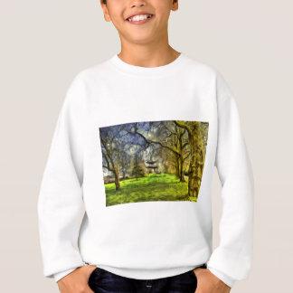 Battersea Park Pagoda Art Sweatshirt