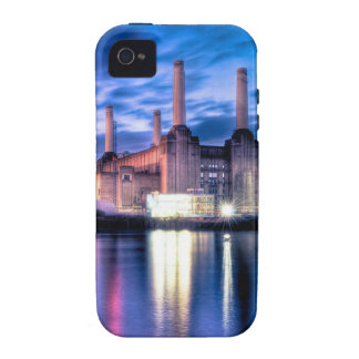 Battersea Power Station at night iPhone 4 Case
