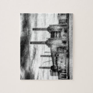 Battersea Power-Station London Snow Jigsaw Puzzle