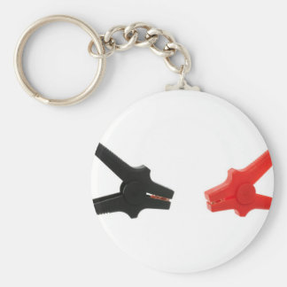 Battery cables key ring