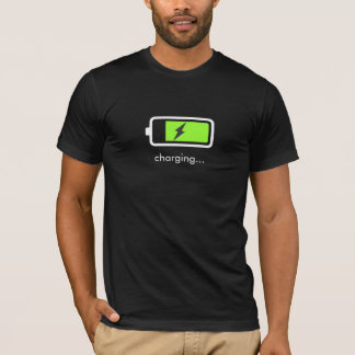 Battery Charging Icon T-Shirt