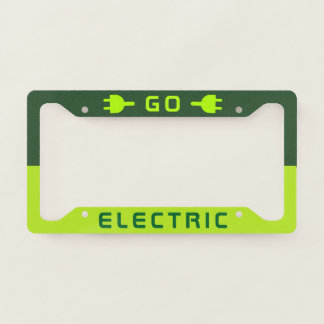 Battery Electric Vehicle (BEV) | Go Electric Licence Plate Frame