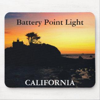 Battery Point Light, California Mousepad 2