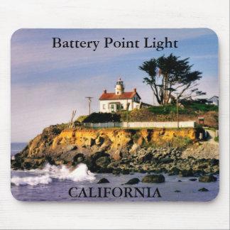 Battery Point Light, California Mousepad