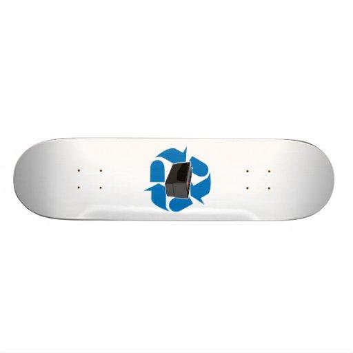 Battery Recycling Skateboard