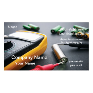 Battery Testing Business Cards